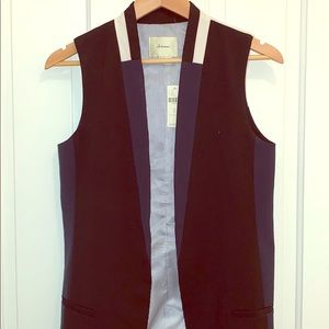 Anthropologie women's suit vest